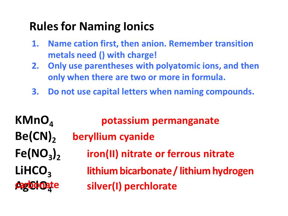 Nomenclature Rules For Naming Covalent Molecular Compounds Ppt