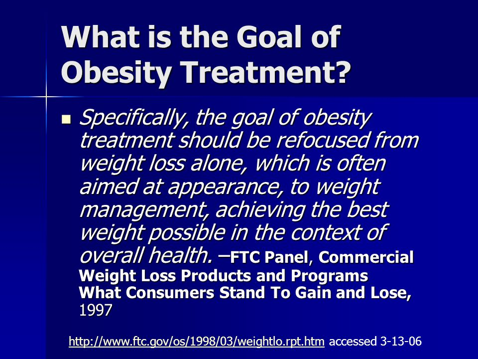 Weight Management Strategies Medical And Nutritional Therapy Ppt