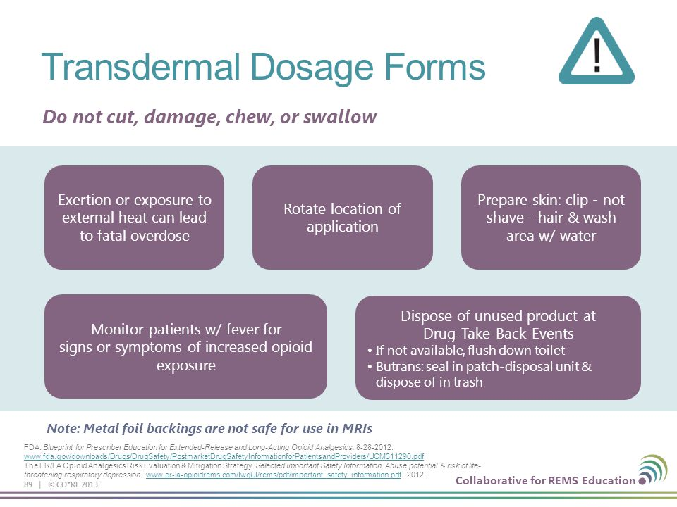 Presented by core collaboration for rems education ppt download 89 transdermal dosage forms malvernweather Choice Image
