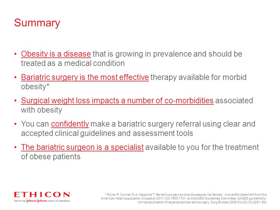 The Treatment Of Obesity Ppt Download