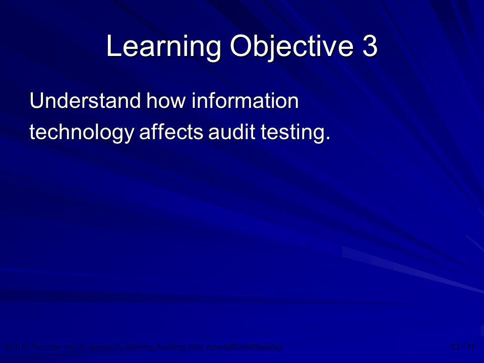 Learning Objective 3 Understand how information