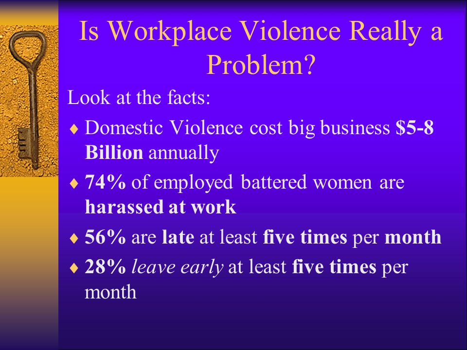 Is Workplace Violence Really a Problem