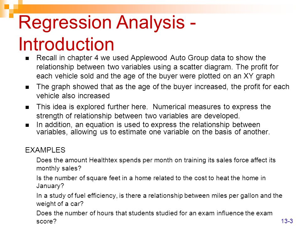 Correlation and Linear Regression - ppt download