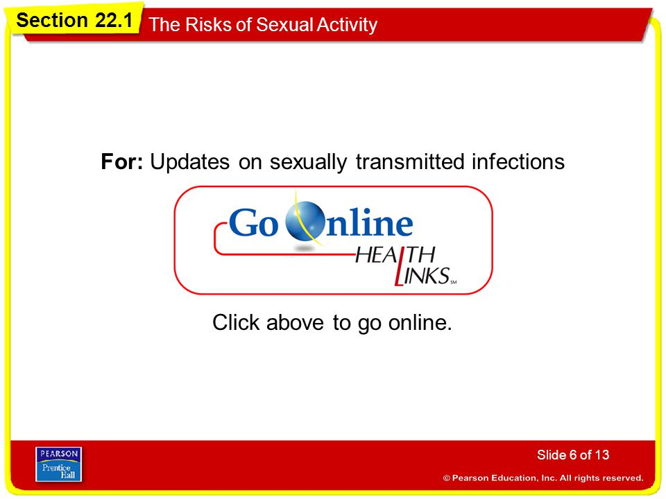 For: Updates on sexually transmitted infections