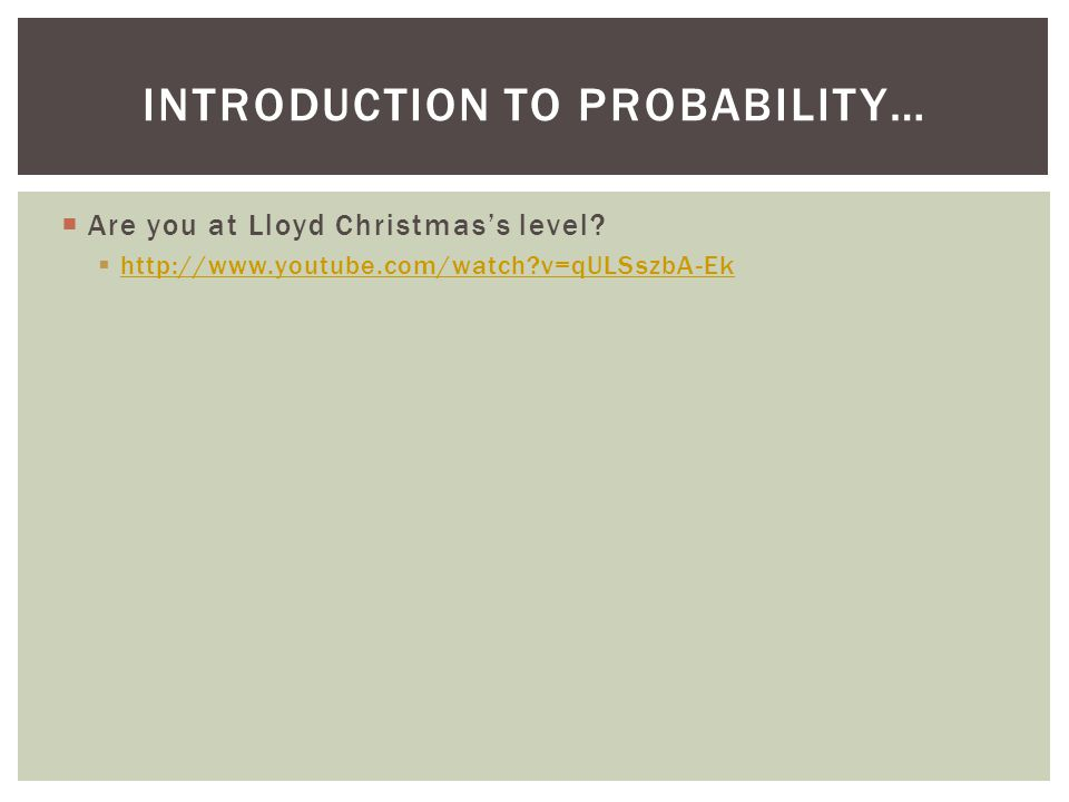 Introduction to Probability…