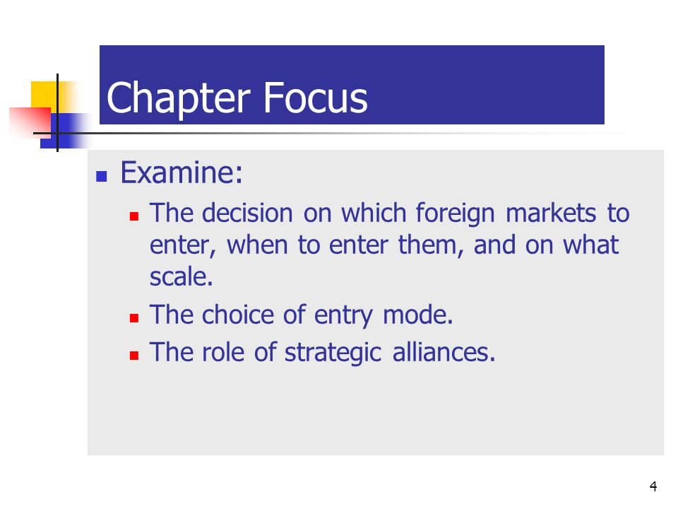 Chapter Focus Examine: