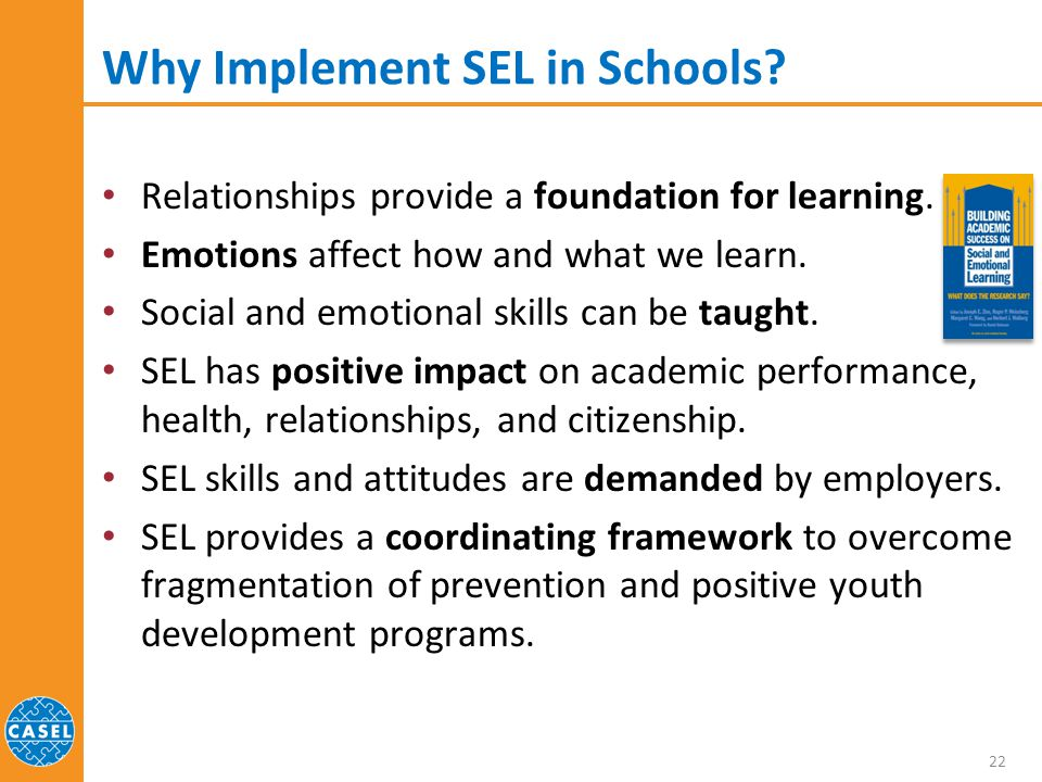 Impact Of Social Emotional Learning On >> Social And Emotional Learning Sel For School And Life