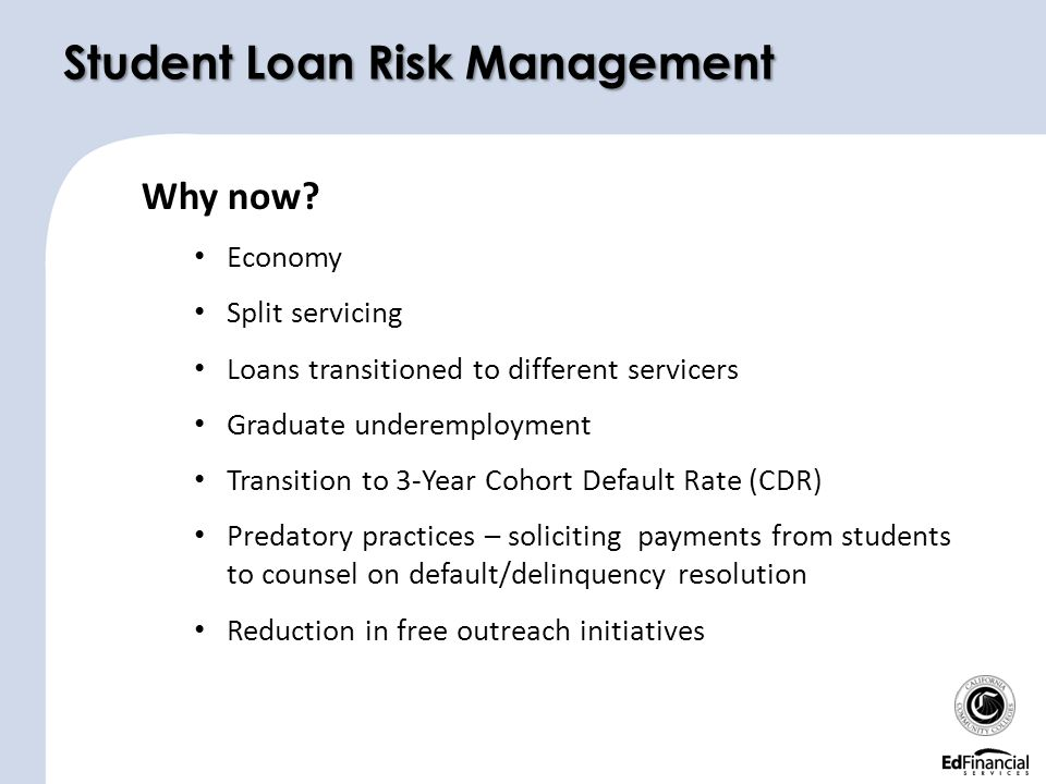 3 Year Loans >> And Student Loan Default Ppt Download