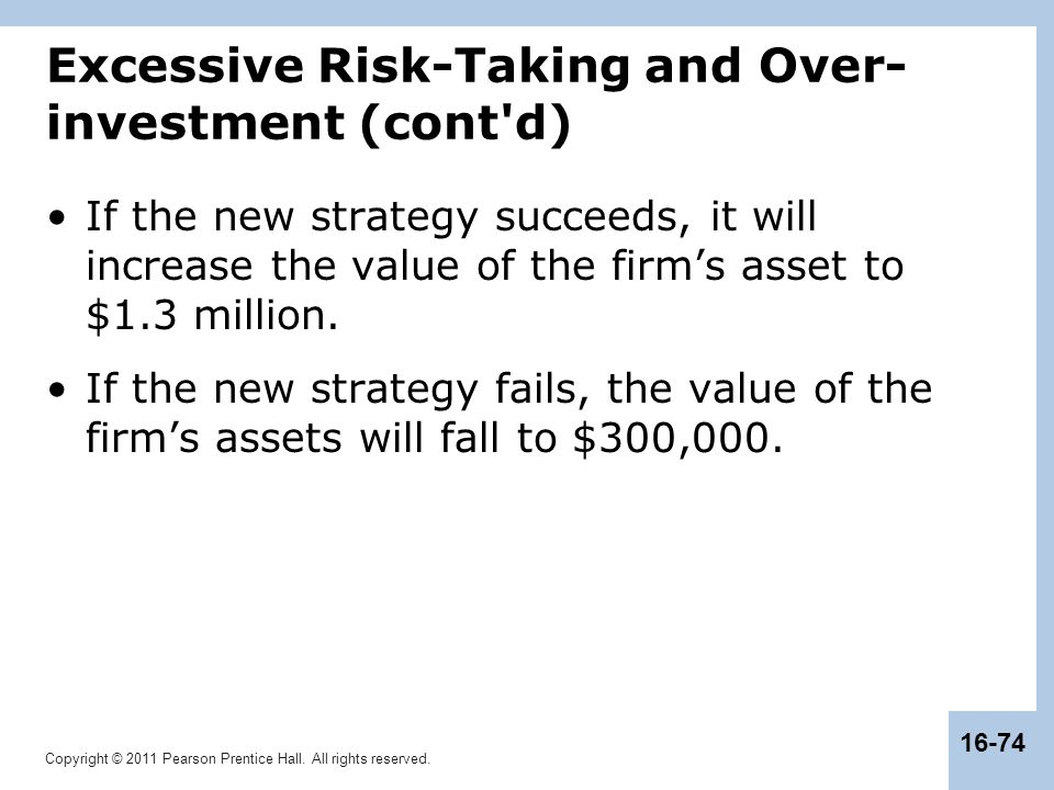 The underinvestment and overinvestment hypothesis worksheet analisa fundamental forex adalah dimaklumkan
