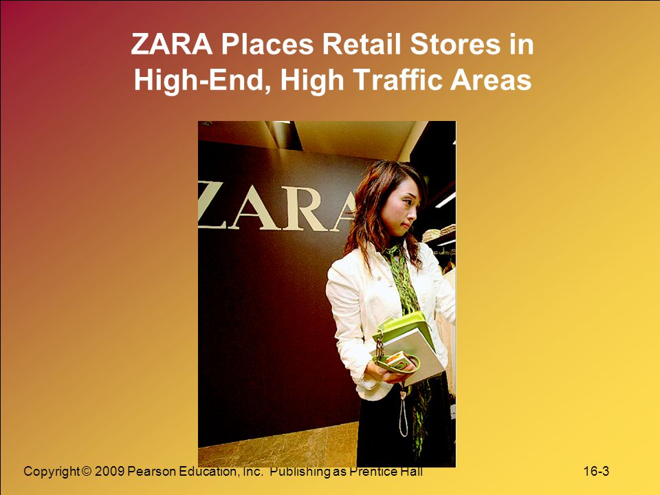 ZARA Places Retail Stores in High-End, High Traffic Areas