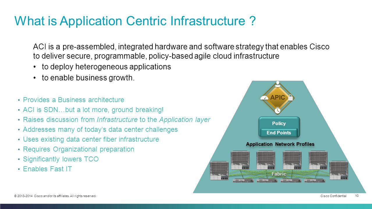 cisco application centric infrastructure ppt Top Ten Trends