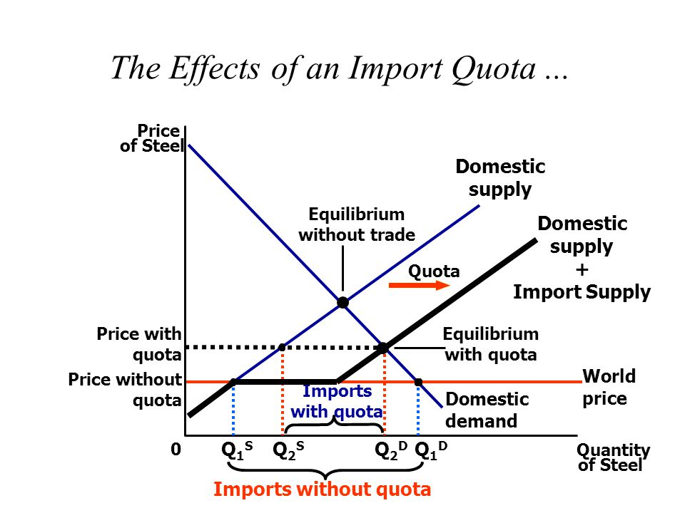 The Effects of an Import Quota ...