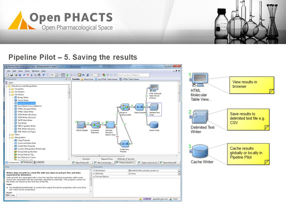 Connecting to Open PHACTS API via Python/Pipeline Pilot - ppt video