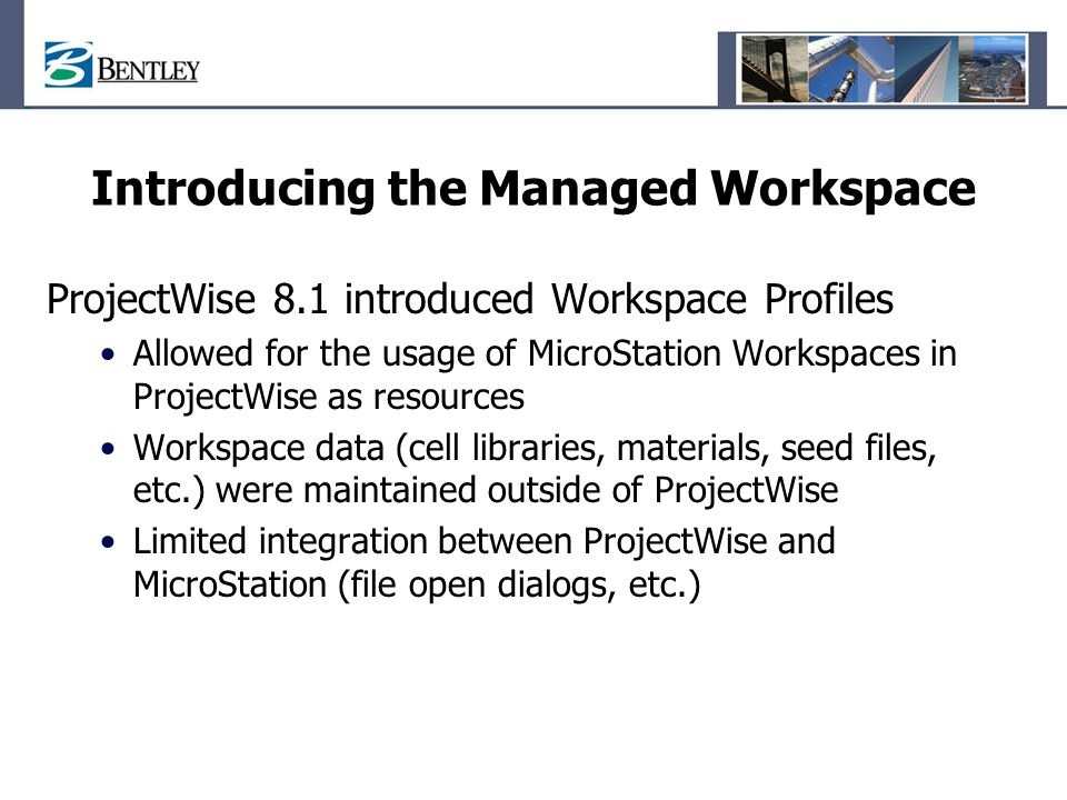 Managing MicroStation Workspaces and Standards in