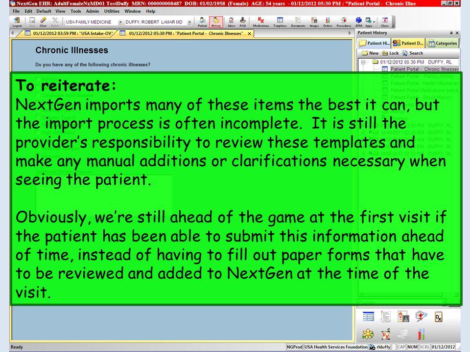 nextgen patient portal nextmd demonstration ppt video online rh slideplayer com Next-Gen Training Order 8.3 Next-Gen Training