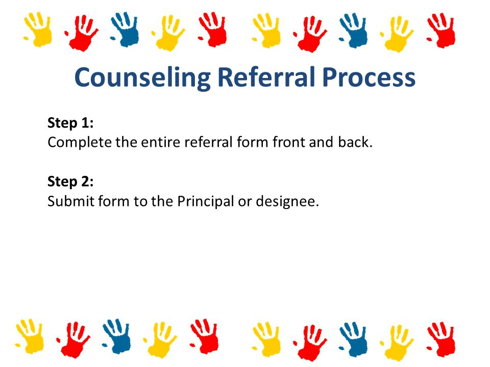 Counseling Referral Process