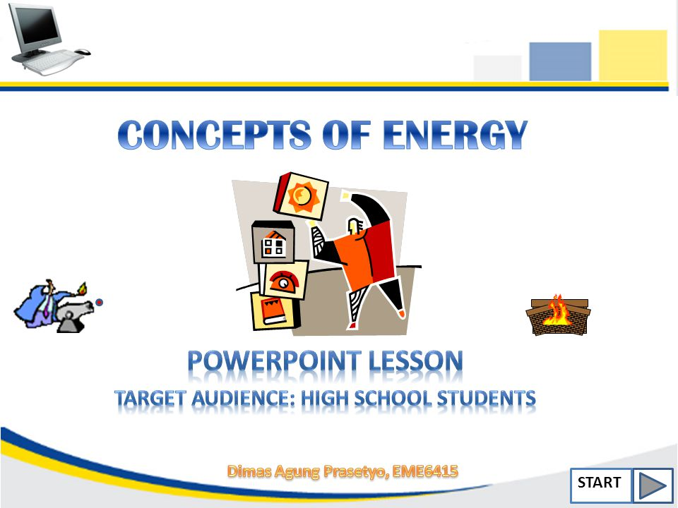 powerpoint lesson target audience high school students