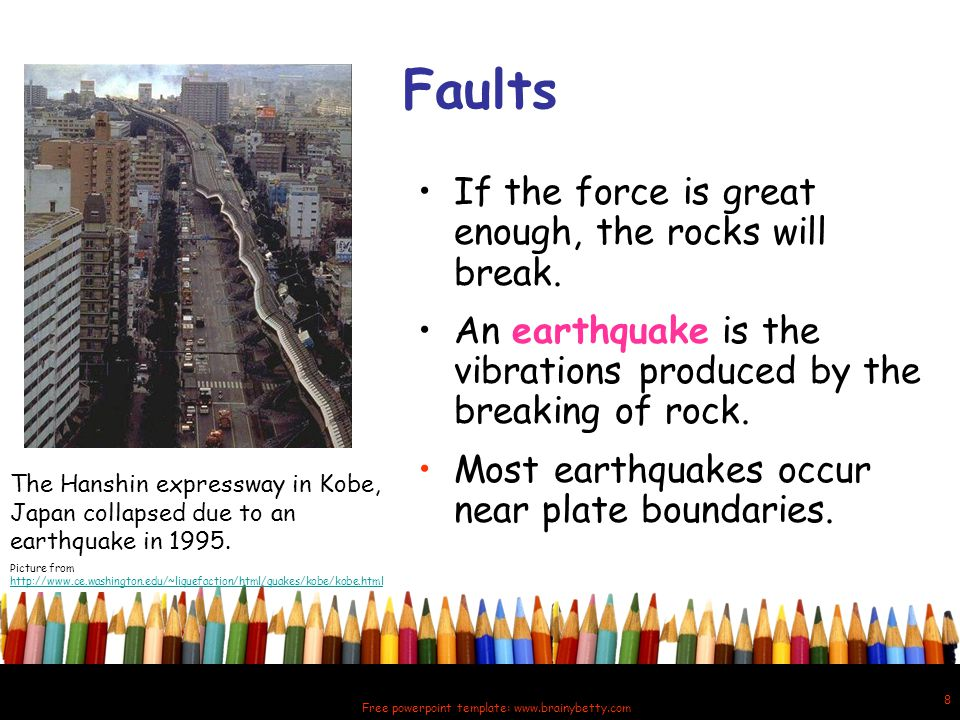 Quaking shaking earth all about earthquakes ppt video online 8 free powerpoint toneelgroepblik Gallery