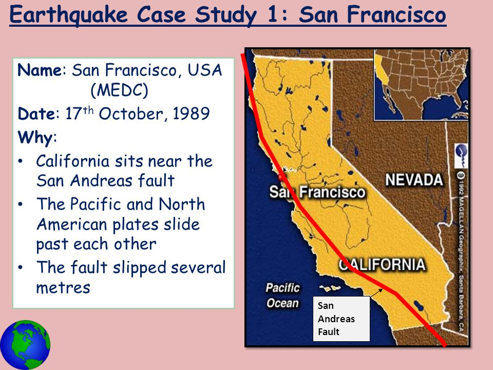 medc earthquake case study san francisco