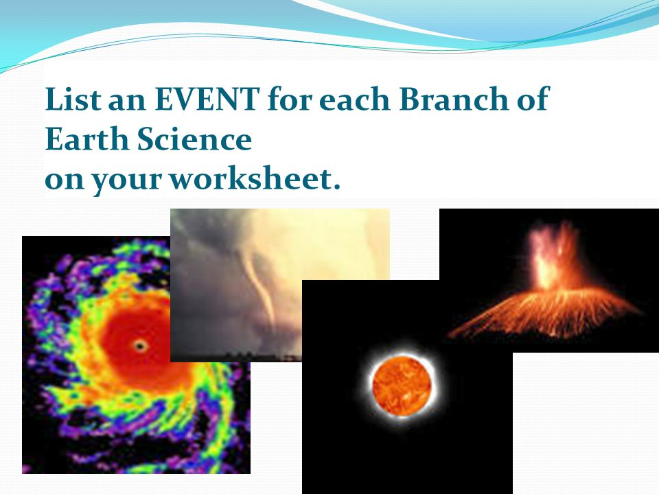 Earth Science Activity Ppt Download. 10 List An Event For Each Branch Of Earth Science On Your Worksheet. Worksheet. Prentice Hall Earth Science Worksheets At Clickcart.co