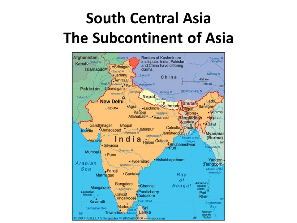 South central asia the subcontinent of asia ppt download 1 south gumiabroncs Gallery