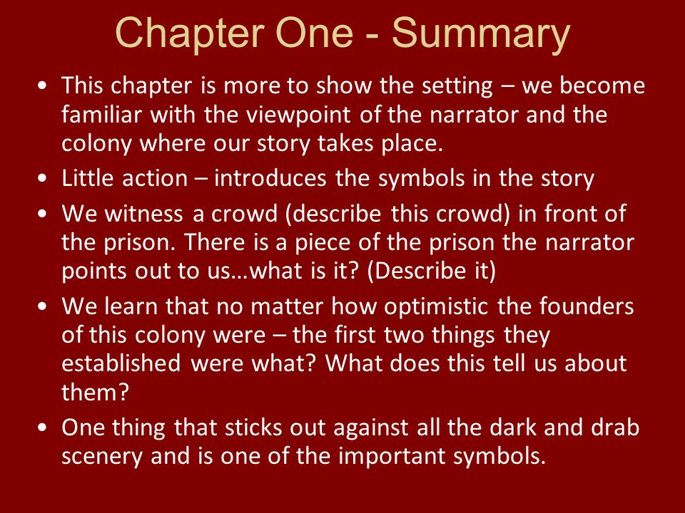 Scarlet Letter Chapters 1 2 Notes ppt video online