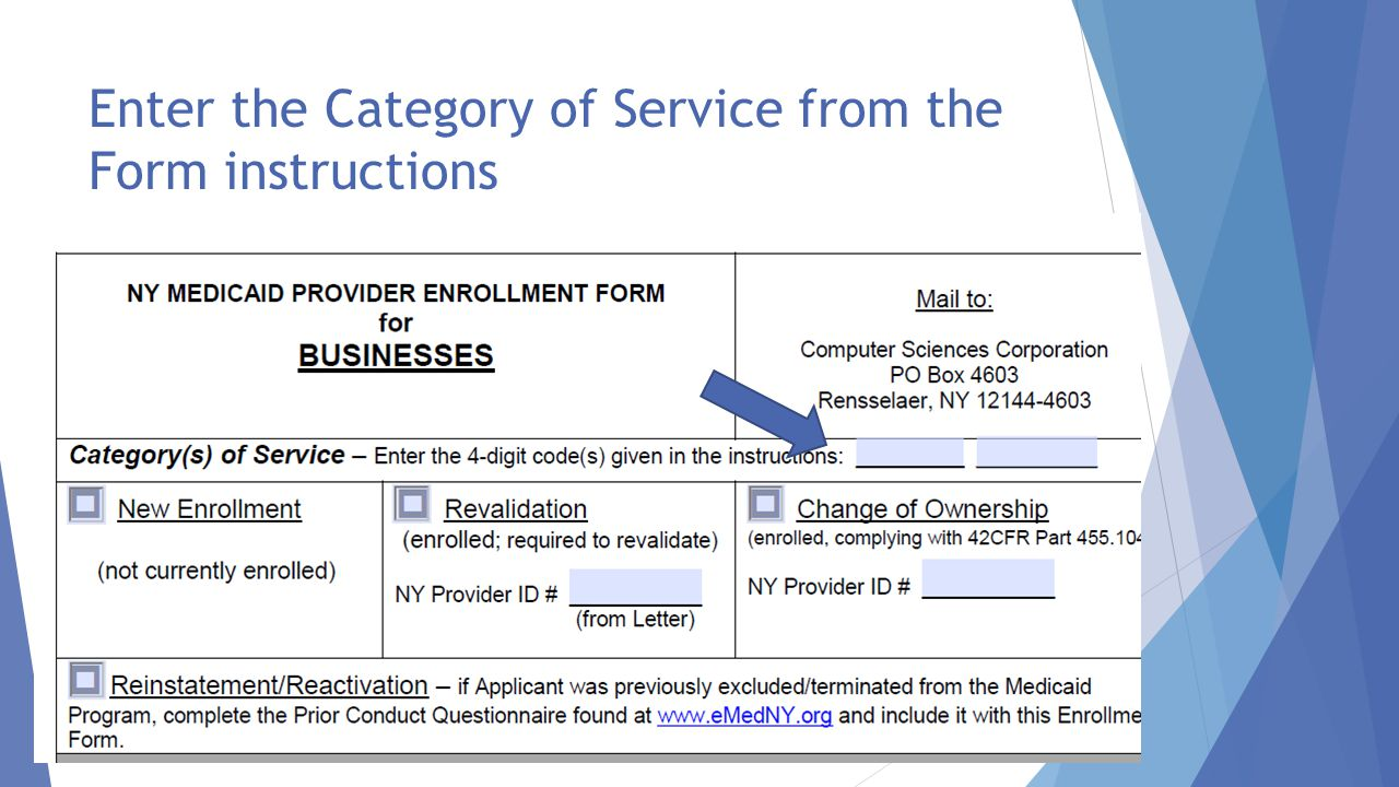 NYS Department of Health Office of Health Insurance Programs