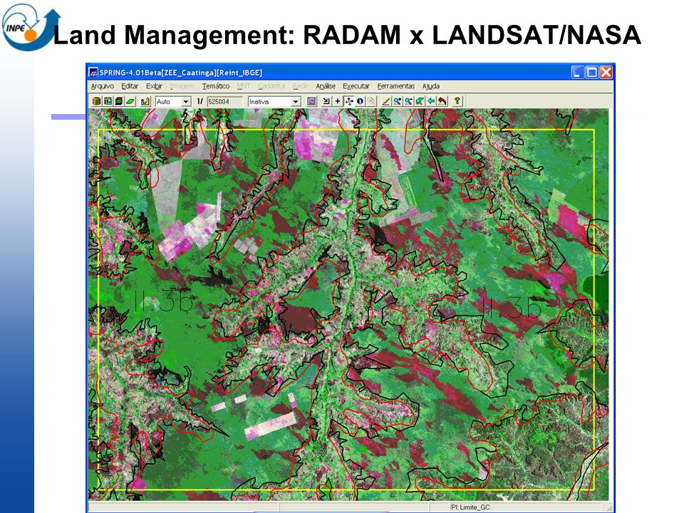 Land Management: RADAM x LANDSAT/NASA