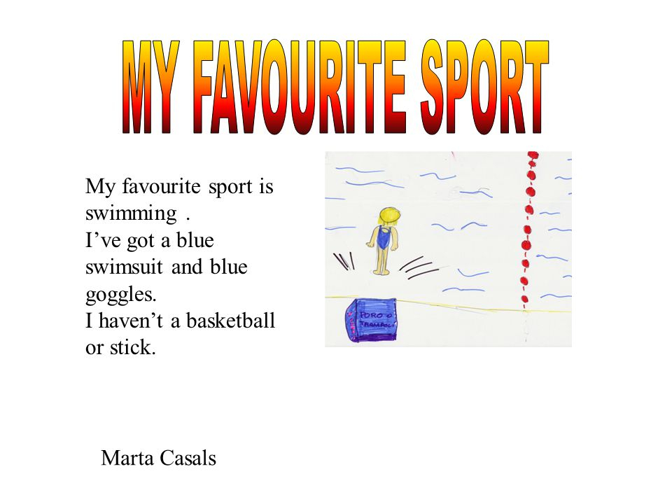 my favourite sport