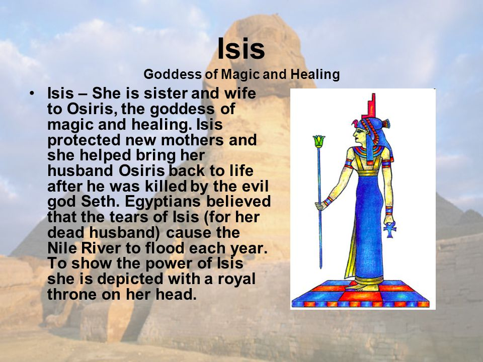 Isis Goddess of Magic and Healing