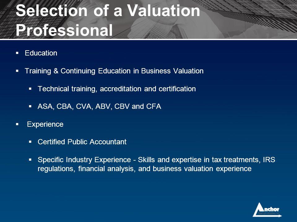 Business Valuation Basics Ppt Download
