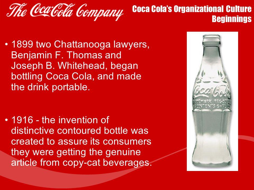 organizational culture of coca cola