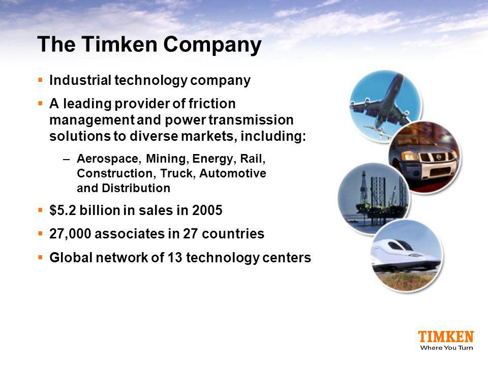 The Timken Company 2006 Profile - ppt download