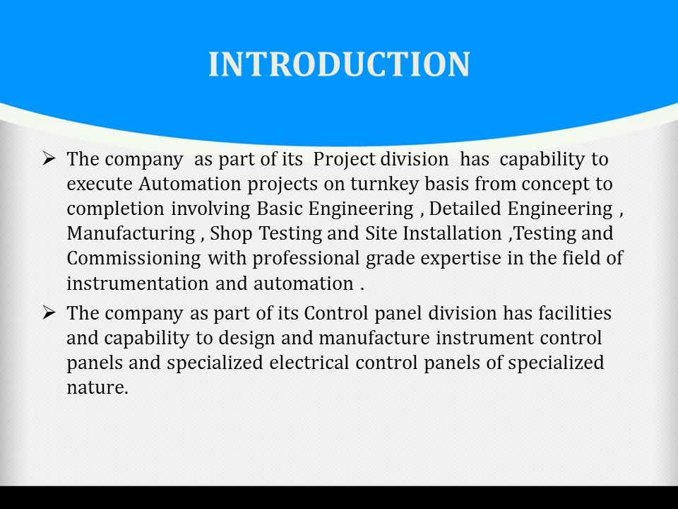 SYSPRO AUTOMATION COMPANY PROFILE. - ppt video online download
