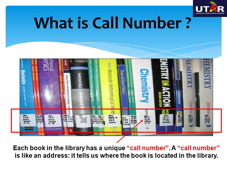 What is Call Number