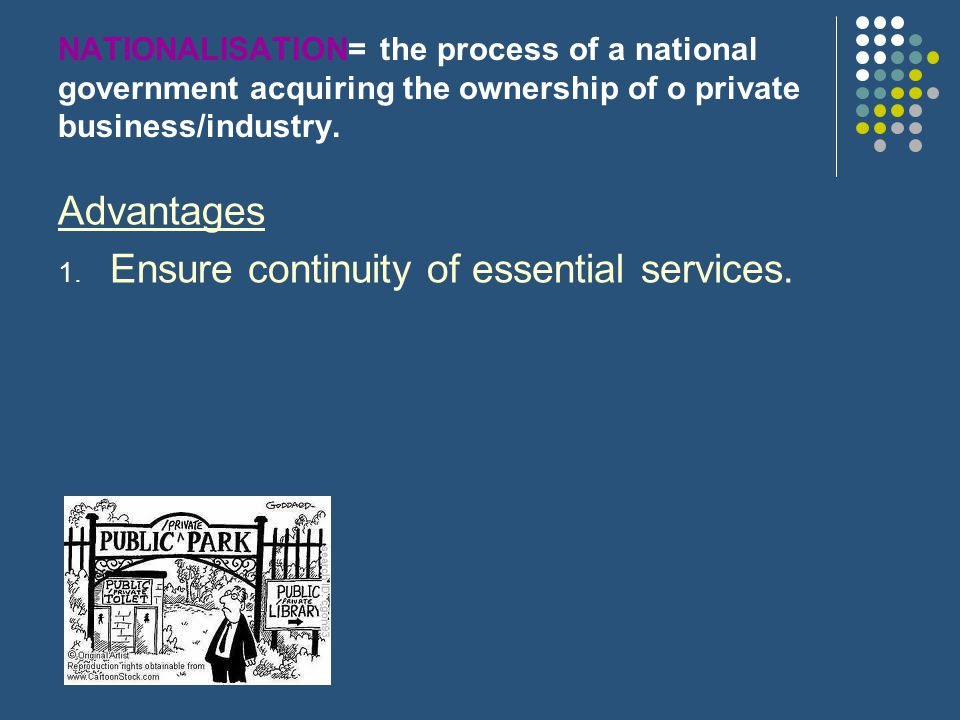 Ensure continuity of essential services.