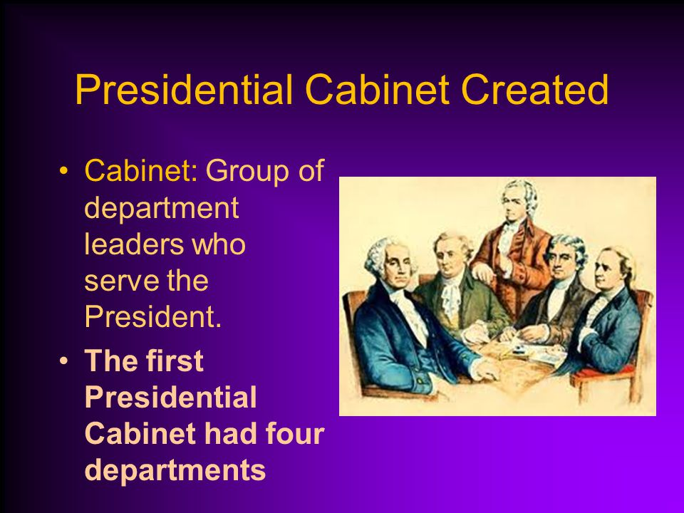 what is the presidents cabinet launching the new government ppt 28311