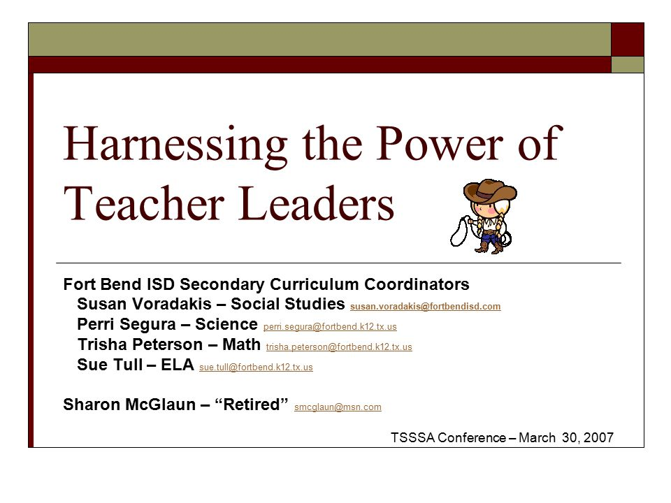 Harnessing the Power of Teacher Leaders - ppt download