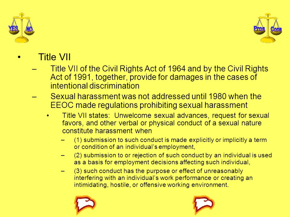 State sovereign immunity title vii sexual harassment