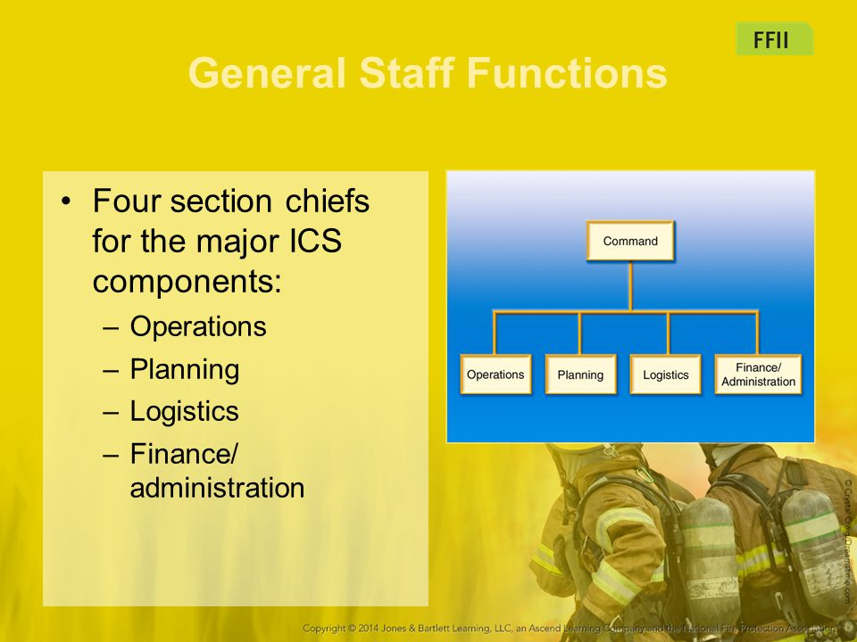 General Staff Functions
