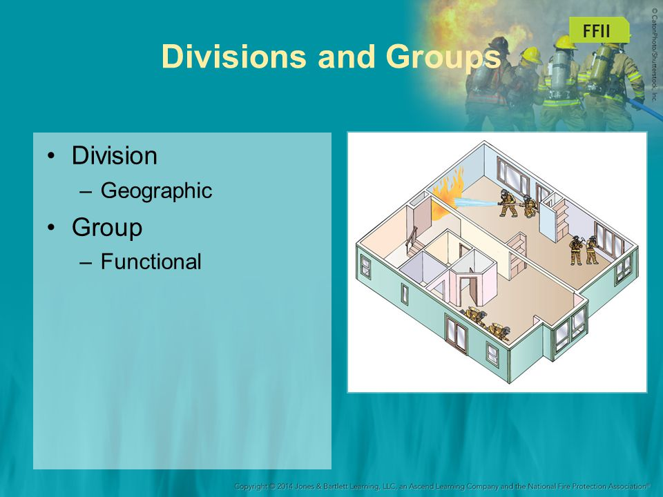 Divisions and Groups Division Geographic Group Functional 33
