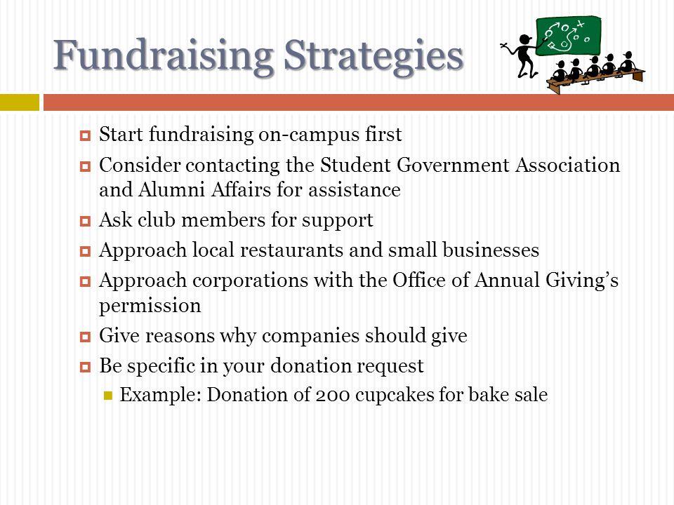 7 fundraising strategies