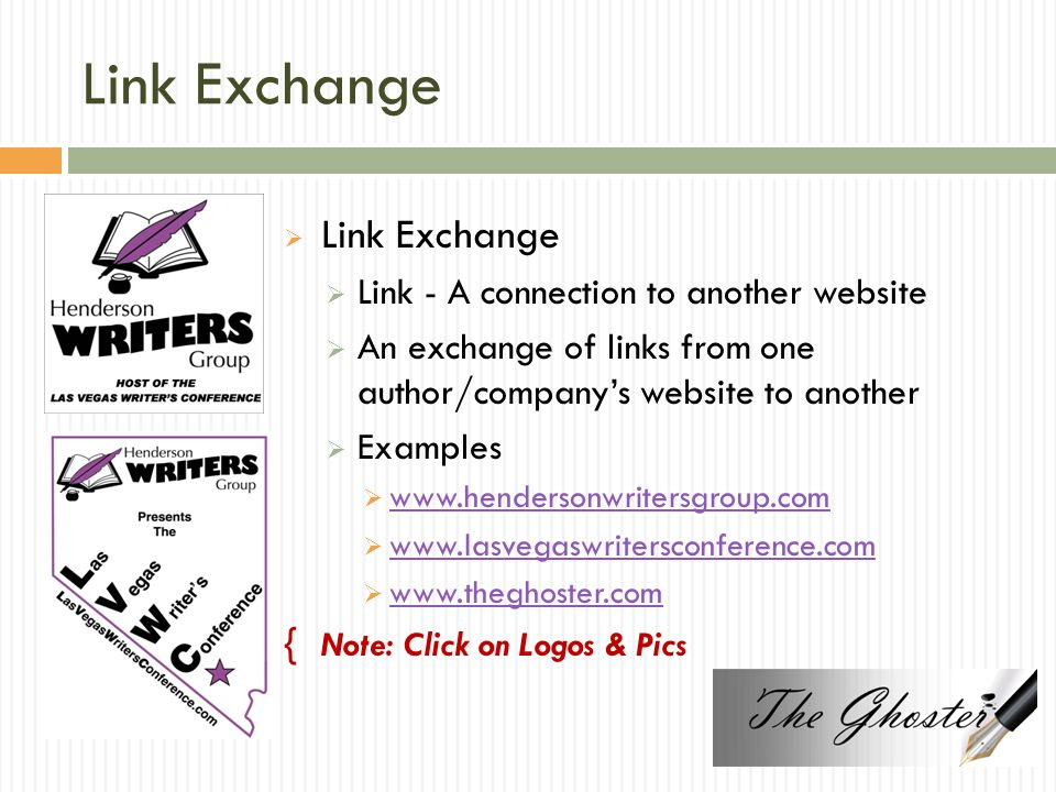 Link Exchange Link Exchange Link - A connection to another website