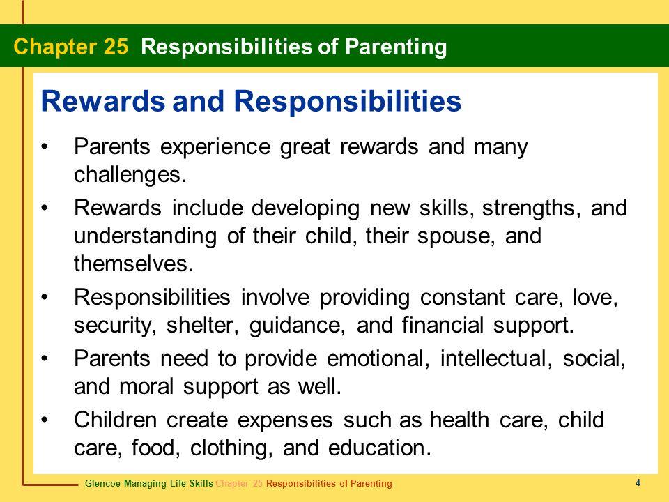 parenting rewards & responsibilities student activity manual answer key