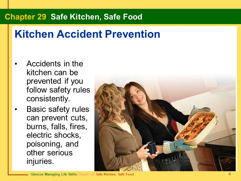 Kitchen Accident Prevention