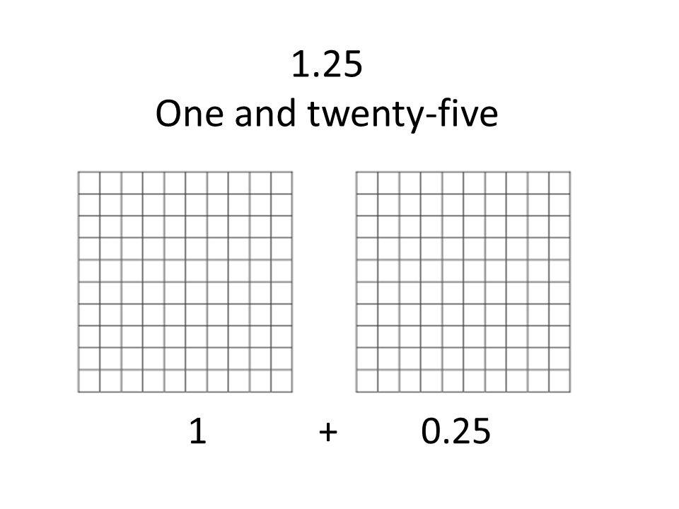 one and twenty