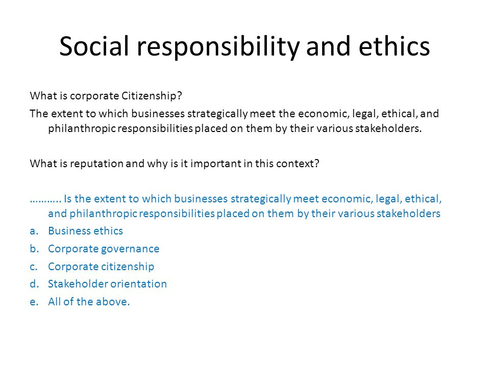 Business ethics chapter one - ppt video online download