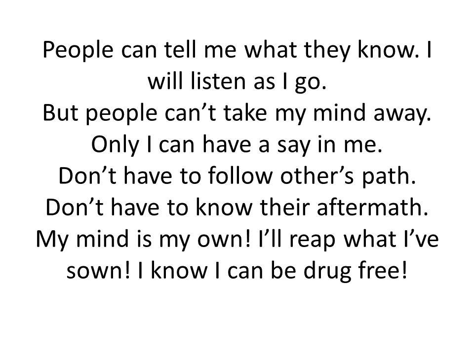 Lyric don t tell me what to do lyrics : I Will Dare Lyrics. - ppt video online download