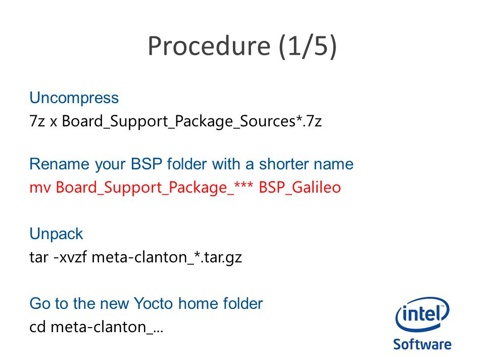Intel Do-It-Yourself Challenge Rebuild (with) Yocto - ppt
