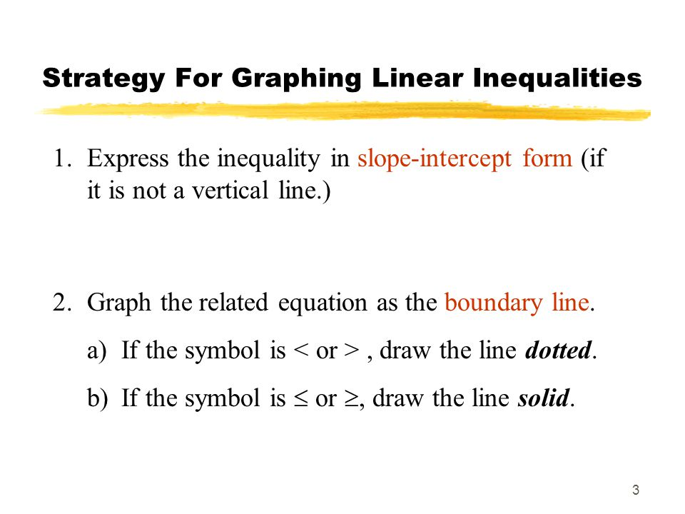 Sections 51 52 Inequalities In Two Variables Ppt Video Online